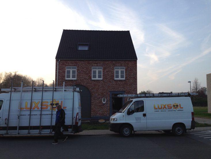 Luxsol Willebroek buitenschrijnwerk